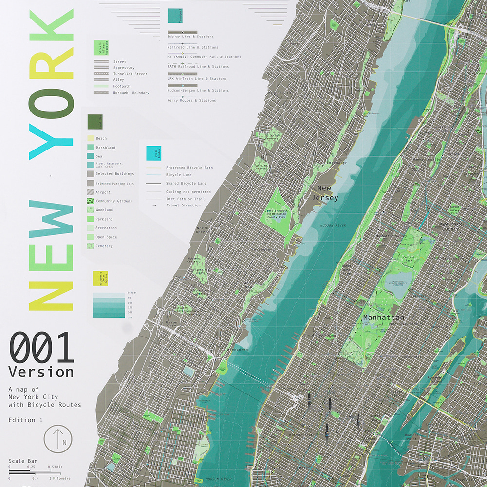 New York City Map (ver.1)_뉴욕지도