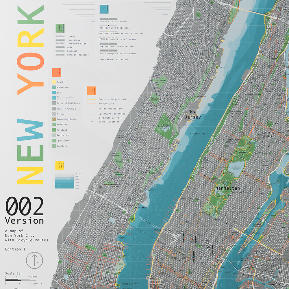 New York City Map (ver.2)_뉴욕지도